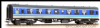 Bachmann 39-056A BR MK1 TSO Tourist Second Open Regional Railways Weathered